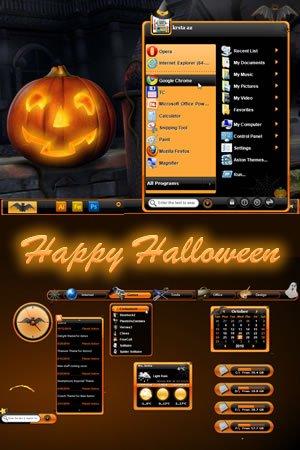 halloween - Windows 7 Halloween Theme